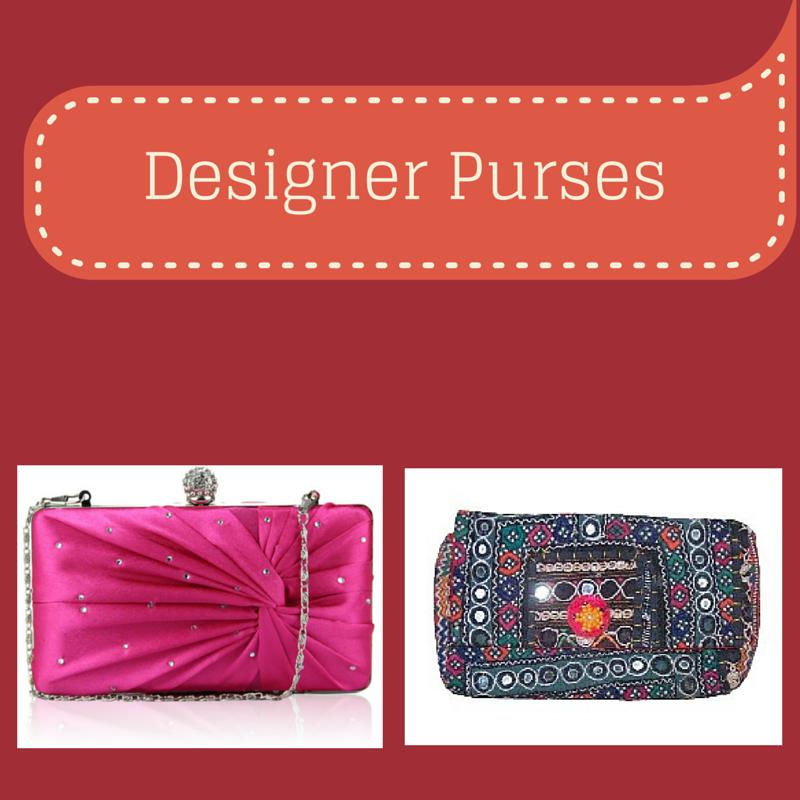 Designer Purses - Charu Fashions