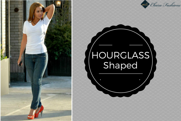 Hourglass shaped | Charu Fashions
