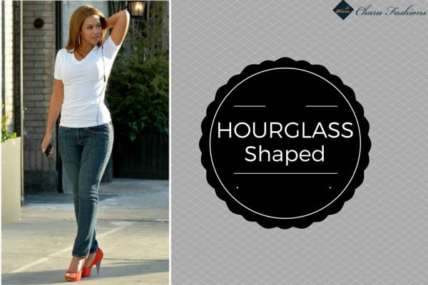 Hourglass shaped | Charu Fashions