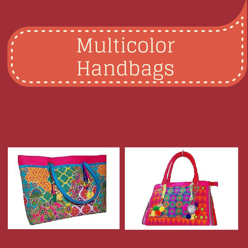 Multicolor Handbags - Charu Fashions