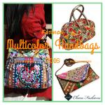 Multicolor Handbags | Charu Fashions