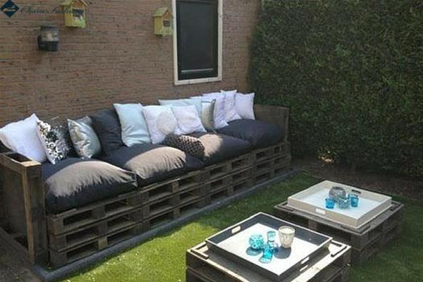 Pallet Sofa  | Charu Fashions