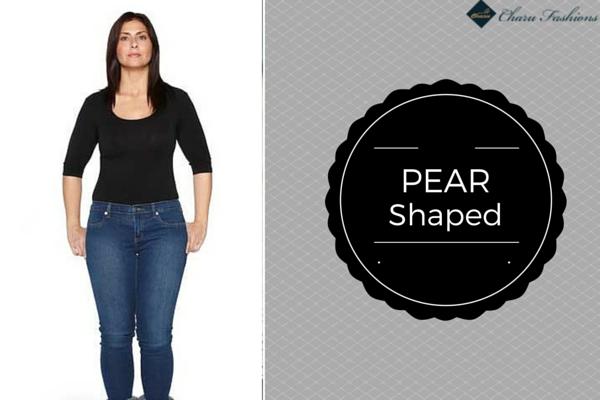 Pear shaped | Charu Fashions