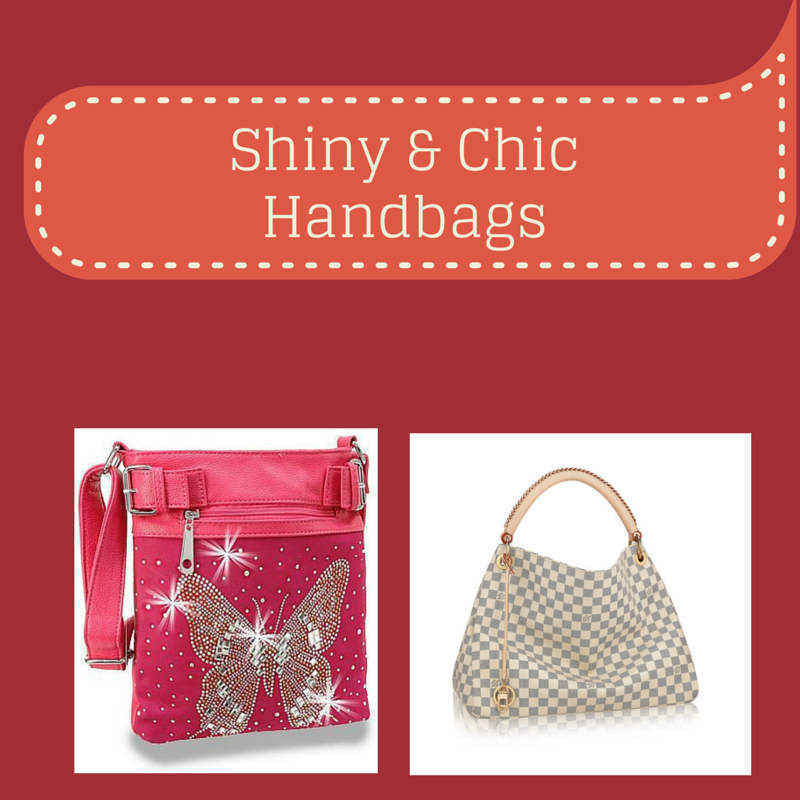 Shiny & Chic Handbags - Charu Fashions