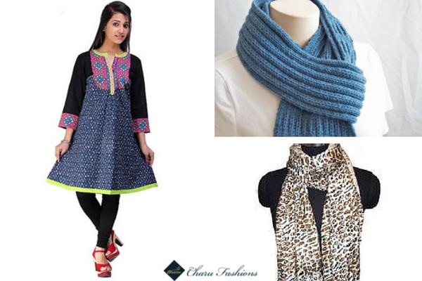 Stoles | Charu Fashions