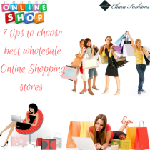7 tips to choose best wholesale Online Shopping stores - Charu fashions