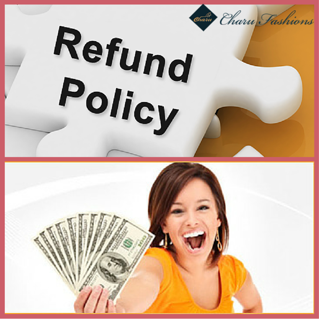 Check the return policy - Charu Fashions