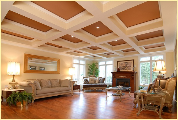 Charu Fashions | Coffered Ceiling