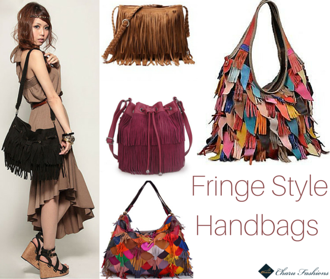 Fringe Handbags trends - Charu Fashions