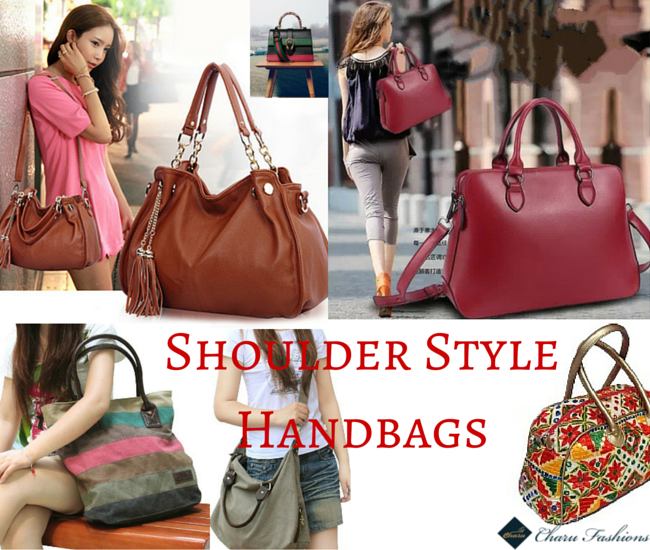 Shoulder Handbags trends - Charu Fashions