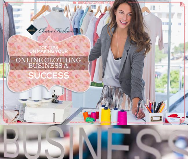 wholesale fashion clothing business- Charu fashions