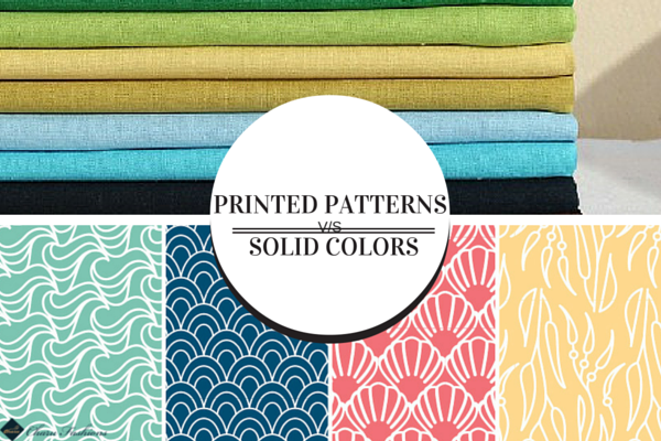 Charu Fashions | Solid Color VS Printed Patterns