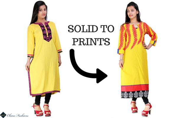 Chaur Fashions | Solid Into Prints