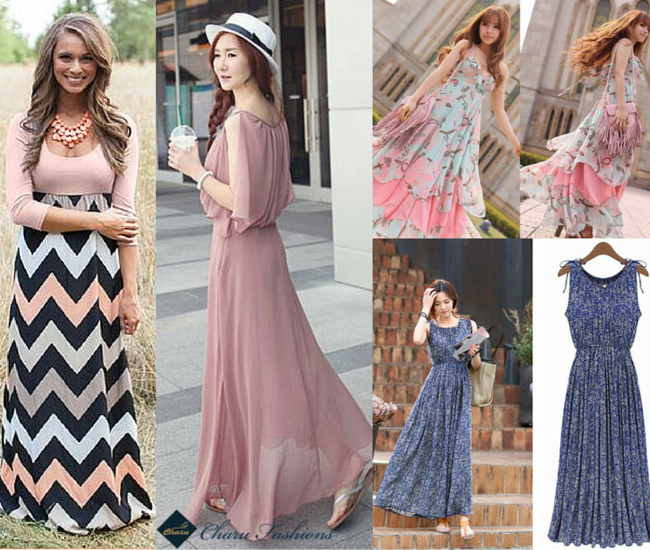 The casual maxi dress - Charu Fashions