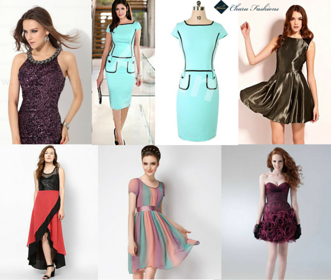 Different Pattern of Dresses - Charu Fashions