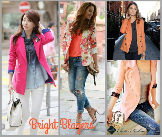 Bright Blazers  - Charu Fashions