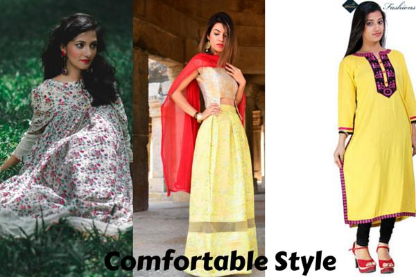 Comfortable Style | Charu Fashions