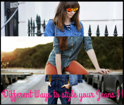 Different Ways To Style Your Jeans!! - Charu fashions