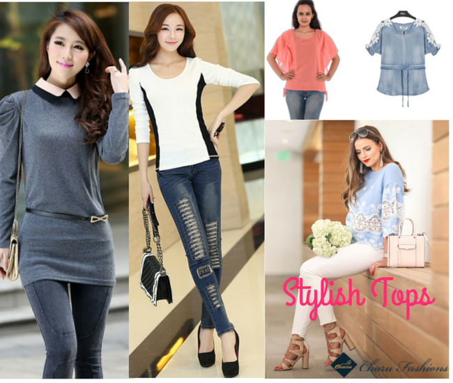 Stylish Tops - Charu Fashions