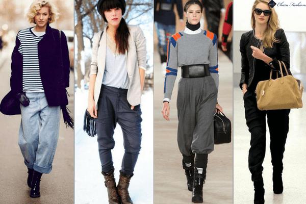 Baggy Trousers | Charu fashions