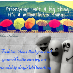 Ideas to celebrate Friendship Day