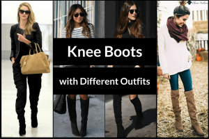 Knee Boots with Different Outfits | Charufashions