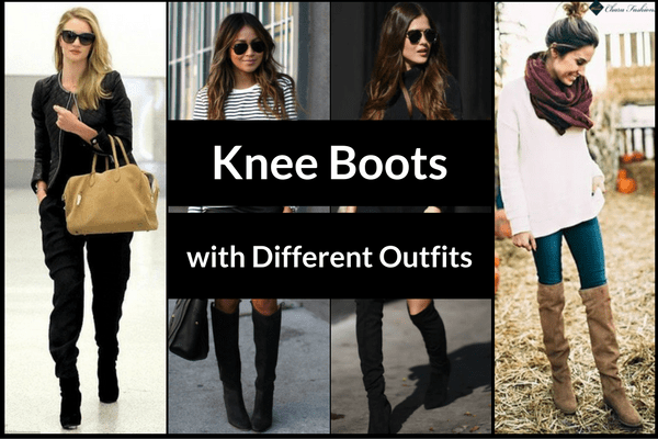 Knee Boots with Different Outfits | Charu fashions