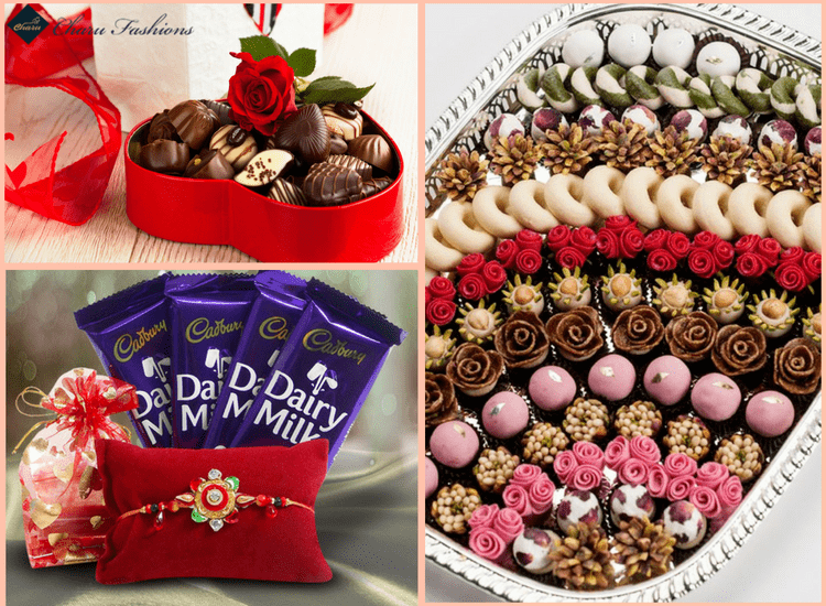 Chocolates for Sister on Rakhi