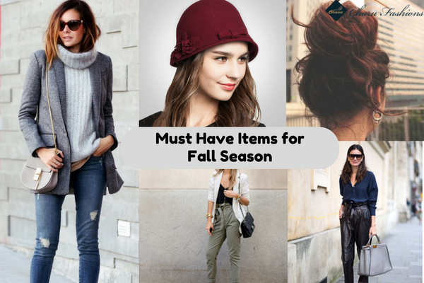 Must Have Items for Fall Season | CharuFashions