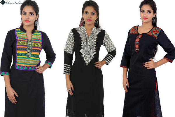 Casual Women's Ethnic Printed Kurti Sale on Black Friday
