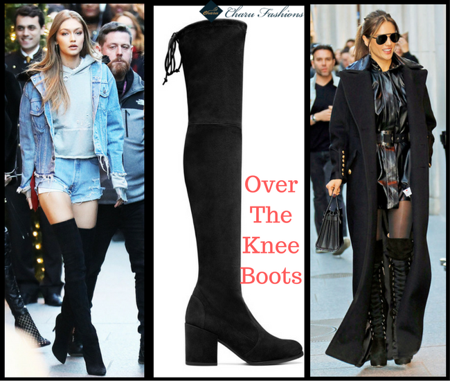 Over the Knee Boots - CharuFashions