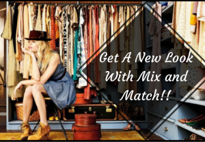 Get A New Look With Mix and Match- CharuFashions