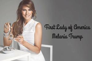 Melania Trump First lady of America