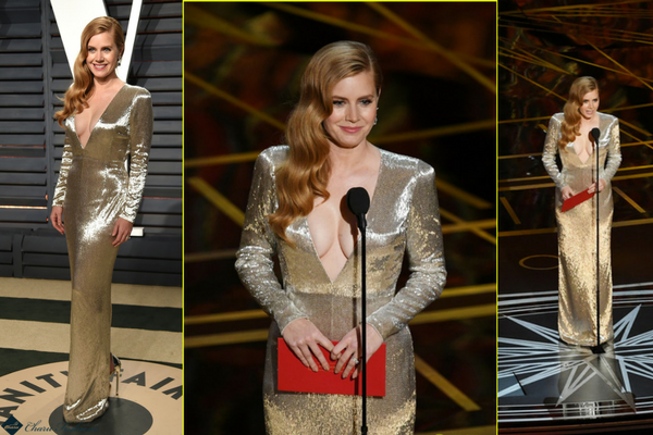 Amy Adams in Oscar 2017- Charu Fashions