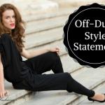 Fashion Trend OFF Duty Style Statement | CharuFashions