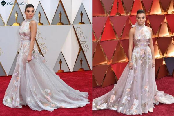 Hailee Steinfeld in Oscar 2017 - Charu Fashions