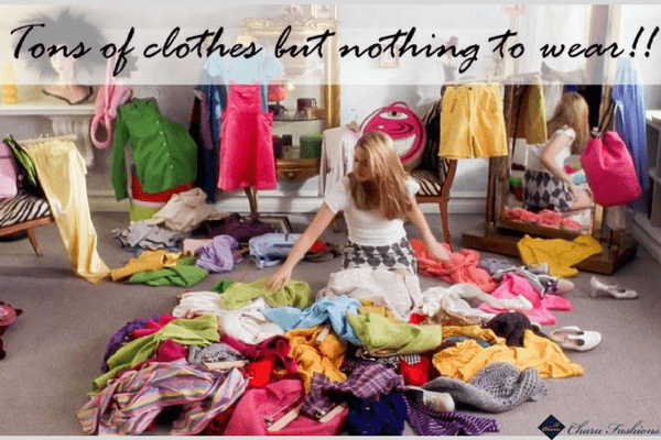 Nothing to wear dilemma | CharuFashions