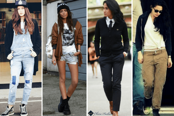 Tom-Boy Look | CharuFashions