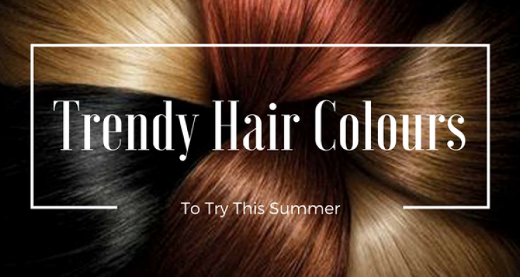 5 Trendy Hair Colours To Try This Summer!!