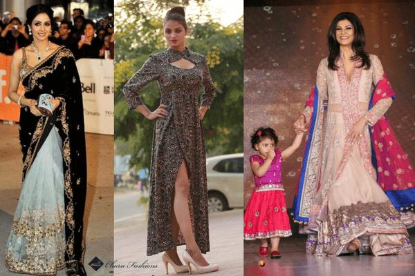 Designer dresses for women   Charufashions
