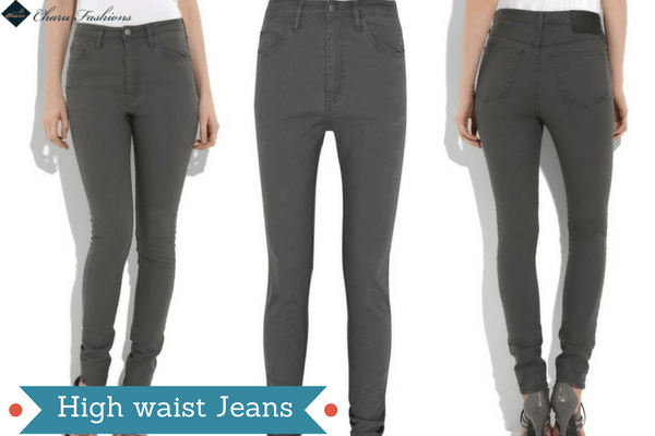 High waist Jeans | Charufashions