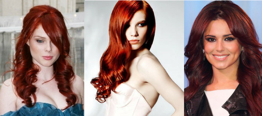 Red Hair Colours Trend