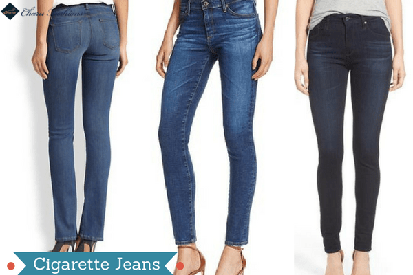 Straight or the Cigarette Jeans | Charufashions