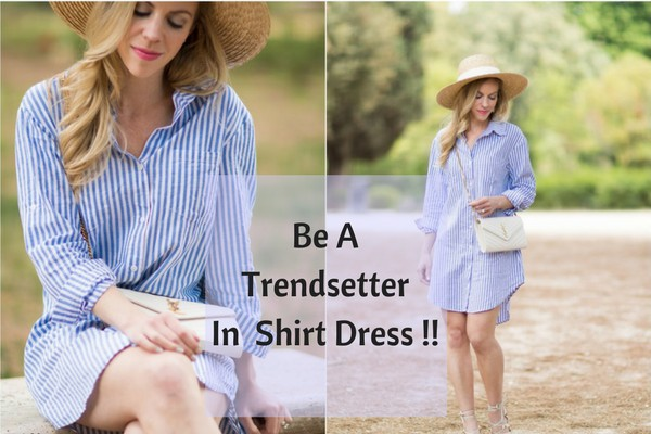 Types Of Shirt Dresses- Charu Fashions