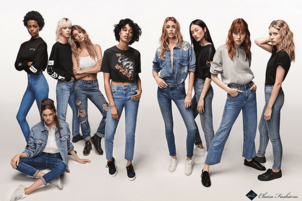 Types of jeans for women | Charufashions