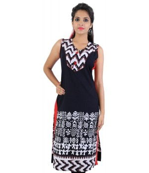 Rajasthani Printed Cotton Women's Kurti